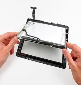 Замена тачскрина на планшете Nexus 7