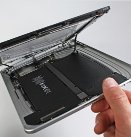 Замена аккумулятора в iPad
