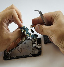 Замена динамика HTC